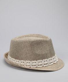 de38ddc6258 Love this feminine fedora by Amici. Fadora Hats