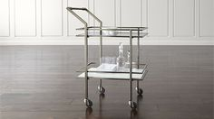 Renee Bar Cart | Crate and Barrel