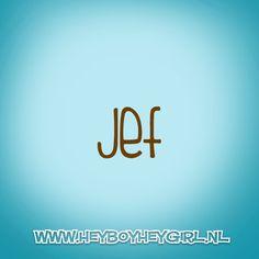 Jef (Voor meer inspiratie, en unieke geboortekaartjes kijk op www.heyboyheygirl.nl)