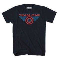 Captain America: Civil War Team Cap T-Shirt - PX