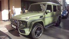 Matte Green G-Wagon
