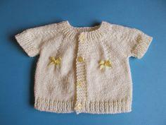 3cd3c9200f15 Ravelry  JAY Baby Cardigan Jacket pattern by marianna mel