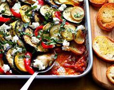 Ratatouille mit Ziegenkäse | 29 super leckere Zucchini-Gerichte für den Sommer