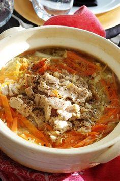 「生姜でほかほか豚バラキャベツ鍋」のレシピ by エリオットゆかりさん | 料理レシピブログサイト タベラッテ
