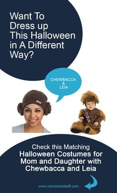 Looking for matching Halloween costumes for mom and baby daughter. Here's more than a dozen idea to help you out. Matching Halloween Costumes, Mom Costumes, Baby Girl Halloween Costumes, Pregnancy Stages, Pregnancy Tips, Baby Care Tips, Mom Advice, First Time Moms, Chewbacca