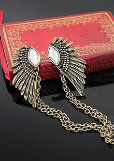 Tie clip alas y cristales EUR6.75