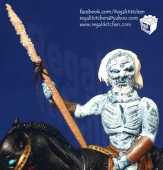 Game of Thrones Cake   White Walker Cake   by The Regali Kitchen