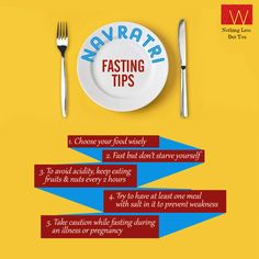 Here are some exclusive #FastingTips for you, this #Navratri.