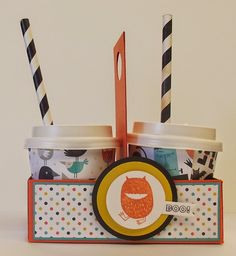 Freaky Friends,Halloween Coffee Tote,Stampin' Up!
