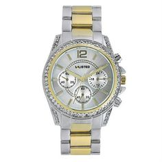Kenneth Cole Unlisted Silver/Gold Band Silver Dial UL4014KCP, $60 Value!