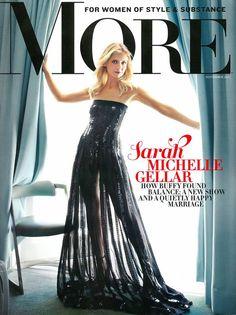 Sarah Michelle Gellar •  MORE Magazine, USA - November 2013