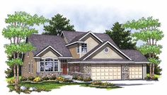 Eplans Cottage House Plan - Bungalow with Tremendous Curb Appeal - 2416 Square Feet and 4 Bedrooms from Eplans - House Plan Code HWEPL13884