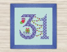 Buy 2 get 1 free December 31 Cross Stitch Pattern от TimeForStitch