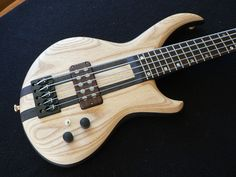 "The Norwegian electric bass maker's ""Totem"" model 5 string (Listerud.com)"