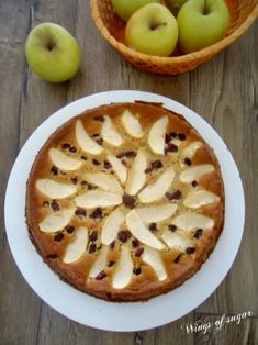 Apples and red cranberry cake, soft and moist - recipe - wings of sugar blog- ------------------------------------------- Torta di mele e mirtilli rossi soffice e umida - ricetta - wings of sugar blog