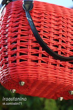 Фотография Rattan, Wicker, Basket Willow, Woven Chair, Basket Crafts, Paper Weaving, Basket Bag, Basket Weaving, Bag Making