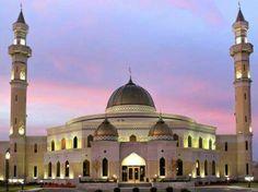 A beautiful  masjid in  Georgia