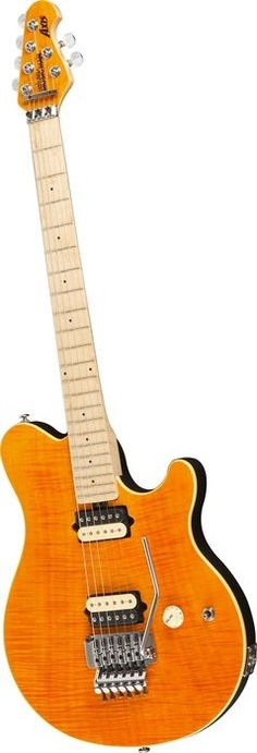 Music Man Axis Electric Guitar Translucent Gold Matching Headstock Maple Fretboard (via Musician's Friend)