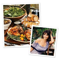 Stars' Favorite Holiday Dishes - Jessica Alba's Cornish Game Hens from #InStyle