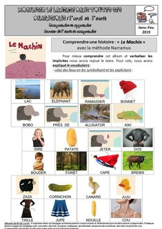 Maternelle Grande Section, Petite Section, Lectures, Ms Gs, School, Albums, Cycling, Vocabulary, Learning