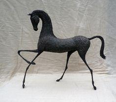 Alima horse sculpture by Alexandra Shorey