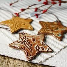 pottery christmas ornaments - Google Search