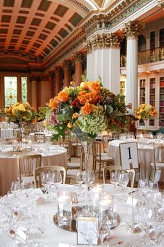 really pretty fall work from planet flowers!
