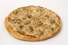 Smokin' Joe's Special pizza. Smokin' Joe's special blend of chicken sausages, chicken Salami, herbed chicken, onion, garlic, oregano and Basil. Offer valid for regular size pizza on saturdays only  #chicken #deal #special #offer #smokinjoes #pizza #mumbai #pune #homedelivery
