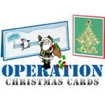 Operation Christmas Cards 2011 - Learn timeless stamping techniques to apply to all your card making ventures!  Free online class from Spotted Canary.
