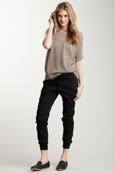 James Perse Pull-On Sweatpant....casual and comfy looking!