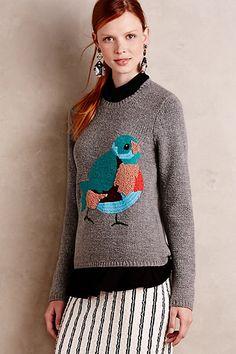 Songbird Pullover #anthropologie