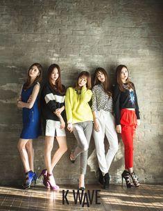 Korean girl group EXID K Wave Magazine Feb 2015
