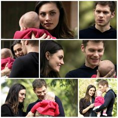 """The Originals – TV Série - Niklaus """"Klaus"""" Mikaelson - Joseph Morgan - Hayley Marshall - Phoebe Tonkin - rei e rainha - King and queen - lobo - Wolf - baby Hope Mikaelson - bebê - amor - love - daughter - filha - father - pai - dad - papai - mother - mãe - mom - mamãe - happy family - família feliz - 2x09 - The Map Of Moments - Mapa Dos Momentos"""