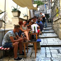 Tour of Split Croatia. Beautiful city.