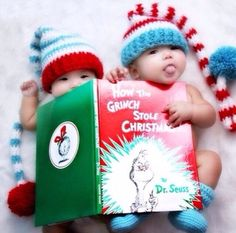 if I have the book I'm sure this would be cute with just one baby also