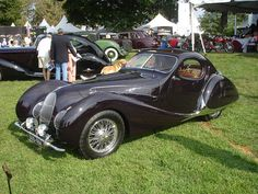 """Prewar France produced some of the most interesting, attractive cars the world will ever know. Prime example: The 1938 Talbot Lago T150C """"Teardrop"""""""