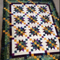 Batik Quilt I made