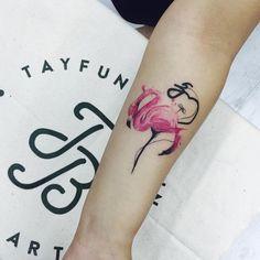 Tayfun Bezgin Creates Beautiful Stylized Tattoos with Watercolor Details