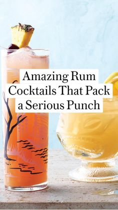Rum Cocktail Recipes, Alcohol Drink Recipes, Cocktail Drinks, Party Food And Drinks, Fun Drinks, Alcoholic Drinks, Beverages, Hot Buttered Rum, Summertime Drinks