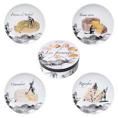 Des assiettes à fromage pas comme les autres. Assiette Design, Cadeau Design, Comme, Decorative Plates, Dinner Plates, Cheese, Gift Ideas