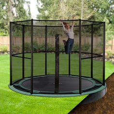 Keep Your Backyard Looking Stylish Whilst Letting The Kids Have Fun, On An  Oz Trampolines