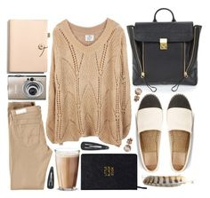"""AIPORT STYLE"" by strayalley ❤ liked on Polyvore featuring 3.1 Phillip Lim, Tory Burch, AG Adriano Goldschmied, Nomadic, Coach, Rosendahl and London Road"