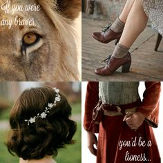 """No, you're not listening. Or have you forgotten who really defeated the White Witch, Peter?"" (Lucy Pevensie aesthetic) [credit @grace_karlson]"