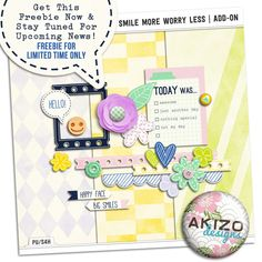 Free Mini Kit from Akizo Designs {on Facebook}
