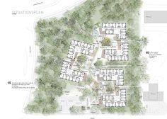 Image result for situationsplan Public Library Architecture, Architecture Concept Diagram, Social Housing, Healthcare Design, Urban Planning, Planer, Presentation, Shapes, Conception