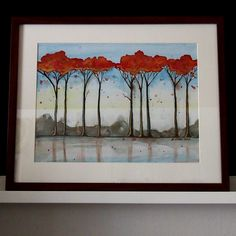 podzimní stromy | Ateliér B. KIOW Painting, Art, Art Background, Painting Art, Kunst, Paintings, Performing Arts, Painted Canvas, Drawings
