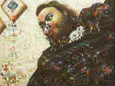 Amazing grace how sweet the sauce! #deepdream by chris_mahfahqin_v
