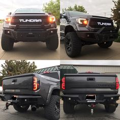 2014 Toyota Tundra supercharged with go rhino front and rear bumpers...