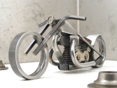 Bike 135 scrap metal art sculpture | Flickr - Photo Sharing!