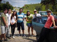 Barbacena - 12/12 - Doug, Reury, Mariane, Luciano, Paloma, Lino, Luisa, Leandro